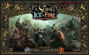 A Song Of ice and Fire Miniatures Game : Stark vs Lannister Starter Set
